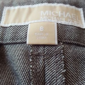 Michael Kors Pants - Michael Kors Black and White Twill Dress Pants